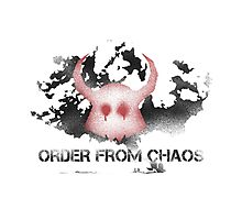 Unicron - Order From Chaos Photographic Print