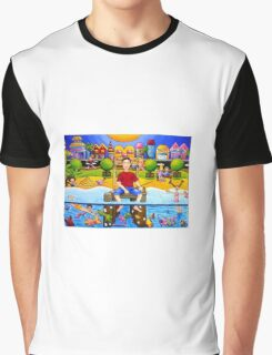 Noosa, Sunshine Coast, Queensland, Australia Graphic T-Shirt
