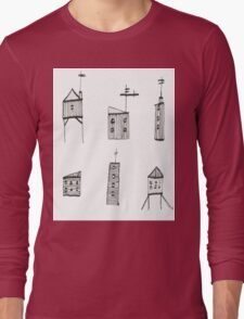 A Collection of Buildings Long Sleeve T-Shirt