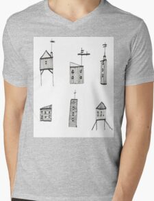 A Collection of Buildings Mens V-Neck T-Shirt
