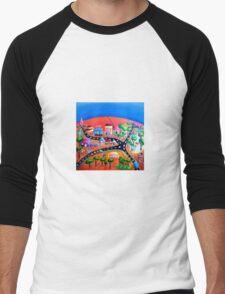 Silverton, NSW, Outback Australia Men's Baseball ¾ T-Shirt