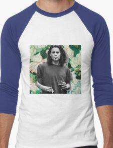 Young Johnny Depp Art Men's Baseball ¾ T-Shirt