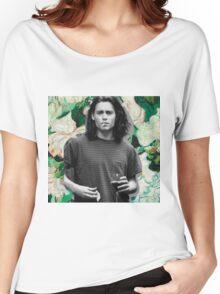 Young Johnny Depp Art Women's Relaxed Fit T-Shirt