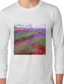 Lovelock's Lavender Long Sleeve T-Shirt