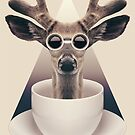 Caffeinimals: Deer by Lasse Damgaard