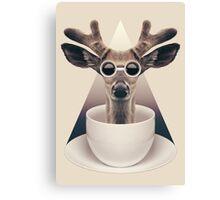 Caffeinimals: Deer Canvas Print