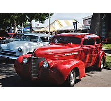Classic Cars Photographic Print