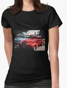 Classic Cars Womens Fitted T-Shirt