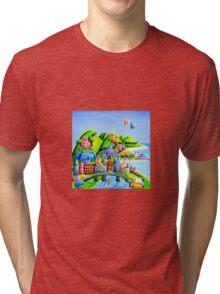Melbourne, Australia Tri-blend T-Shirt