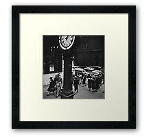 New York Vintage picture Framed Print