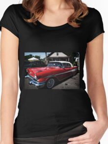Classic Car 2 Women's Fitted Scoop T-Shirt