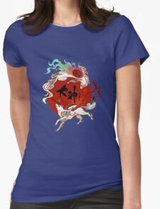 Okami Womens Fitted T-Shirt