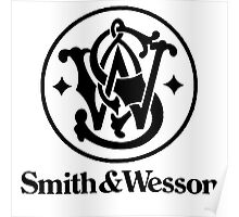 Smith & Wesson - Black Poster