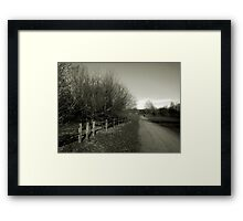Fine Art Photograph Countryside rural  Framed Print