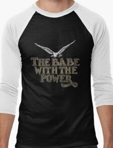 the babe with the power Men's Baseball ¾ T-Shirt