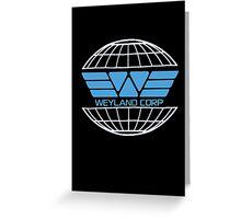 Weyland Corp Alien - Logo Greeting Card