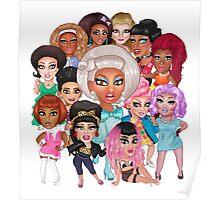 RuPaul's Drag Race Season 8 Queens Poster