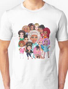 RuPaul's Drag Race Season 8 Queens Unisex T-Shirt