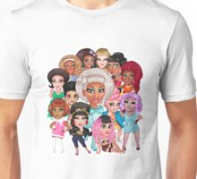 RuPaul's Drag Race Season 8 Queens Unisex T-Shirt