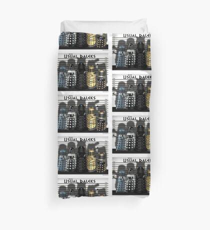 The Usual Daleks Duvet Cover