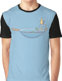All wok and no play Graphic T-Shirt