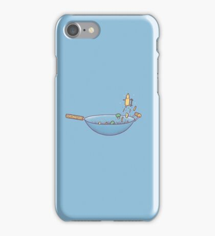 All wok and no play iPhone Case/Skin