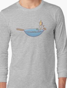 All wok and no play Long Sleeve T-Shirt