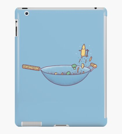 All wok and no play iPad Case/Skin