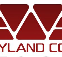 Weyland Corp Alien - Logo - Red Sticker