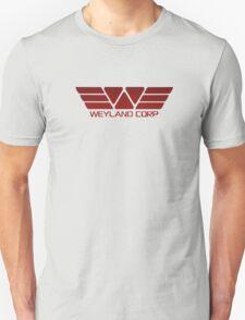 Weyland Corp Alien - Logo - Red T-Shirt