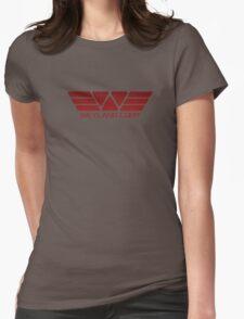 Weyland Corp Alien - Logo - Red Womens Fitted T-Shirt