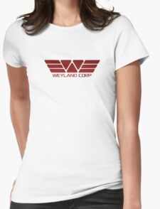 Weyland Corp Alien - Logo - Red T-Shirt