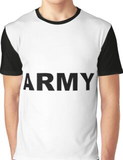 Army Graphic T-Shirt