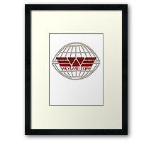 Weyland Corp Alien - Logo - Tshirt Framed Print