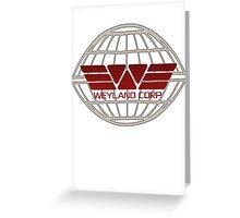 Weyland Corp Alien - Logo - Tshirt Greeting Card