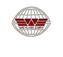 Weyland Corp Alien - Logo - Tshirt Photographic Print