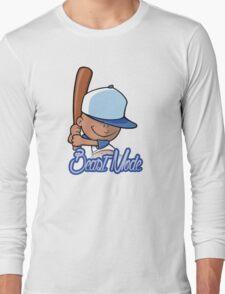 Backyard Baseball Pablo Sanchez Beast Mode Art Long Sleeve T-Shirt