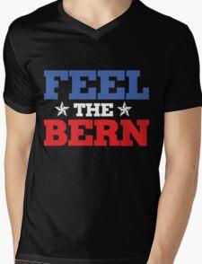 feel the bern Mens V-Neck T-Shirt