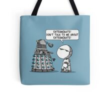 Marvin meets Who? Tote Bag