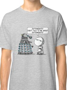 Marvin meets Who? Classic T-Shirt