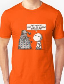 Marvin meets Who? Unisex T-Shirt