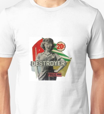 Destroyer by Allan Bjornaa Unisex T-Shirt