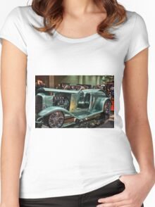 Classic Car 6 Women's Fitted Scoop T-Shirt