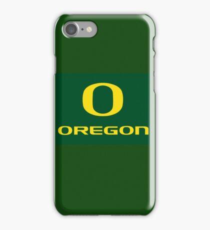 Oregon  iPhone Case/Skin
