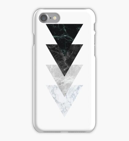 Marble Triangles iPhone Case/Skin