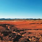 Red Barrren Soil in Wild National Park Landscape (Chapada dos Veadeiros, Brazil) by visualspectrum