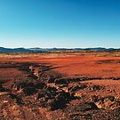 Red Barrren Soil in Beautiful Wild Landscape (Chapada dos Veadeiros, Brazil) by visualspectrum