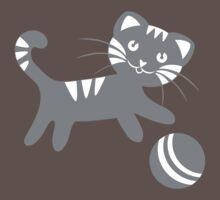 Funny kitten pattern Baby Tee