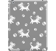Funny kitten pattern iPad Case/Skin