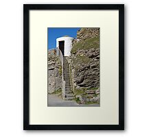 The Lower Pilots Lookout at Portreath Framed Print